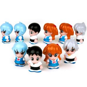 セット すくい人形 キャラクターすくい エヴァンゲリオン4種セット エヴァンゲリオン 計10個入 キャラクター すくい 人形 お子様ランチ|festival-plaza