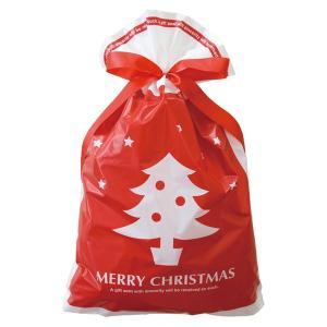 プチキュートリボン付PEギフトバッグ−L 20枚 クリスマス ラッピング603[18K17]|festival-plaza