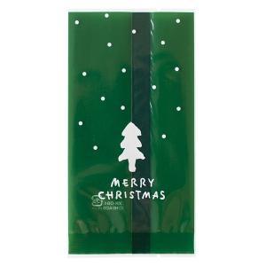 シンプルクリスマススイーツパック/クリア−4 100枚 クリスマス ラッピング603[18K17]|festival-plaza
