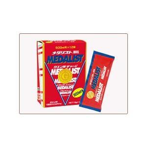 MEDALIST メダリスト 500mL用 15gX12袋入 アミノ酸 クエン酸 栄養|ff-narita