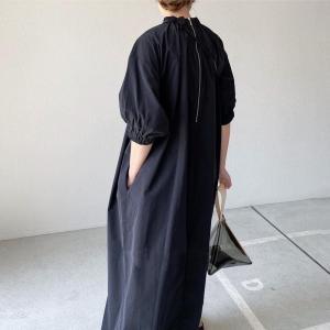 ワンピース デニム 秋 冬 レディース 40代ファッション 50代 ワンピース 女性 服 きれいめ 体型カバー レディースファッション ワンピ|ff8yoshi1127