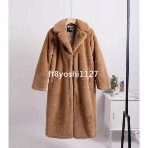レディースフーデットコートグレンチェックフードコートアウター暖かいゆったりシルエットお洒落きれいめ秋冬暖かいアウター ff8yoshi1127