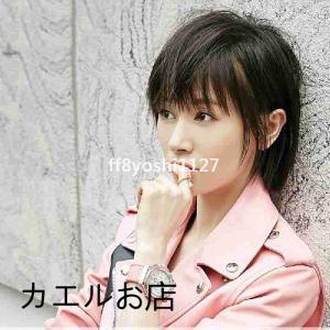 BOBOショートカットレディース若く見える自然短い髪軽い通気性パーマ韓国風|ff8yoshi1127