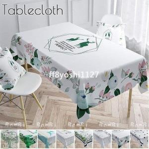 クリスマス飾りテーブルクロス北欧撥水ビニール布正方形白長方形|ff8yoshi1127