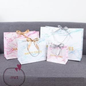 紙袋3枚セット手提げ袋ギフト用袋リボンかわいい可愛い母の日父の日誕生日記念日プレゼントギフト|ff8yoshi1127