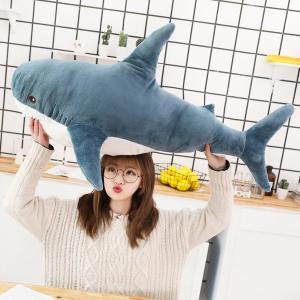 サメ shark 鮫 リアル ふわふわ 抱き枕 クッション 可愛い お祝い プレゼント ff8yoshi1127