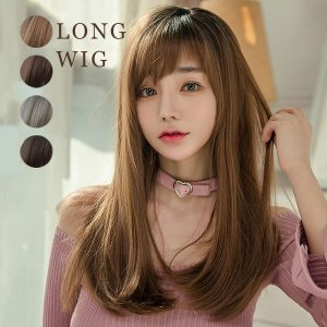 ウイッグ ロングヘア 原宿風 ネット付 レディース 女性 ウイッグ 可愛い 大人 レディース ファション 日常用|ff8yoshi1127