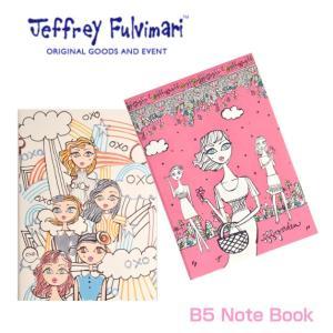 Jeffrey Fulvimari/ジェフリーフルビマーリ/B5ノート/ノート/メモ帳/マス目/文房具/ステーショナリー|ffactory-ff