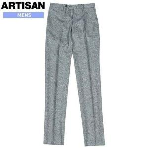 商品名:日本製 ネップ ウール スラックス ブランド:ARTISAN 生産国:日本 サイズ:表記サイ...