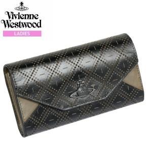 【Vivienne Westwood】ヴィヴィアンウエストウッド 本革 カット&スラッシュ かぶせ長財布 黒『17/4/5』280417(送料無料) fflower11
