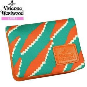 ★SALE 大特価★【Vivienne Westwood】ヴィヴィアンウエストウッド シャドウタイガー 二つ折りパスケース(定期入れ) 橙『16/10/2』131016(送料無料)|fflower11