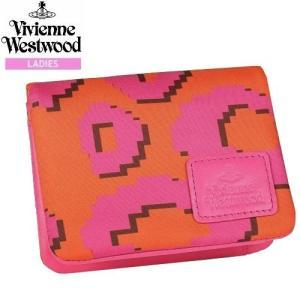 ★SALE 大特価★【Vivienne Westwood】ヴィヴィアンウエストウッド シャドウレオパード 二つ折りパスケース(定期入れ) ピンク『16/10/2』131016(送料無料)|fflower11