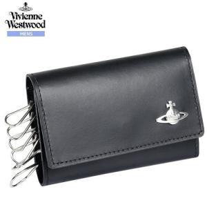 【訳あり商品】【Vivienne Westwood】ヴィヴィアンウエストウッド 日本製 本革 COIN 6連キーケース 黒『17/8/2』100817(送料無料)|fflower11
