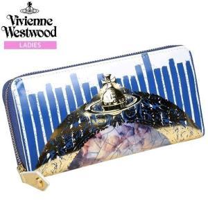【訳あり商品】【Vivienne Westwood】ヴィヴィアンウエストウッド 本革 ケラブフレーム ラウンドファスナー長財布 白『17/7/5』270717(送料無料)|fflower11