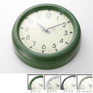時計 壁掛け リアルホーロークロック デザイン時計 [代引き不可] [■]|ffws