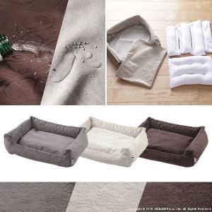 ペット用品 ペット ベッド ドルチェ Sサイズ タオル付き カドラー 犬用 猫用 小型 ソファタイプ|ffws|03