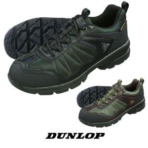 ダンロップ メンズ スニーカー ローカット DUNLOP M666WP ウォーキングシューズ トレッキング 防水設計 スニーカー 靴|fg-store