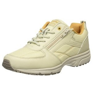 DynaWalk ダイナウォーク 1002 3E ベージュ 靴 ファスナー付 スニーカー|fg-store