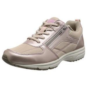 DynaWalk ダイナウォーク 1002 3E シャインピンク 靴 ファスナー付 スニーカー|fg-store
