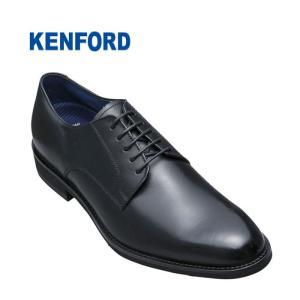 ケンフォード メンズ ビジネスシューズ KENFORD KN65ACJ ブラック 黒 細め プレーントゥ 靴 就活 父の日 プレゼント fg-store