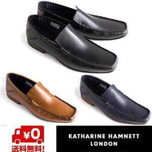 キャサリンハムネット メンズ ビジネスシューズ KATHARINE HAMNETT 31559 メンズ スリッポン 靴 成人式 プレゼント|fg-store