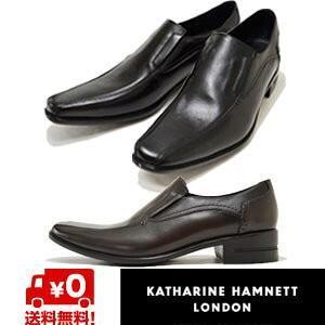 キャサリンハムネット メンズ ビジネスシューズ KATHARINE HAMNETT 31580 メンズ 本革 紳士靴 スリッポン 成人式 プレゼント|fg-store