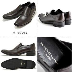 キャサリンハムネット メンズ ビジネスシューズ KATHARINE HAMNETT 31580 メンズ 本革 紳士靴 スリッポン 成人式 プレゼント|fg-store|03