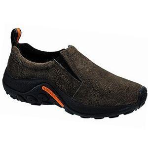 MERRELL メレル ジャングルモック スニーカー  ガンスモーク  ダークブラウン  濃茶  靴 M60787|fg-store