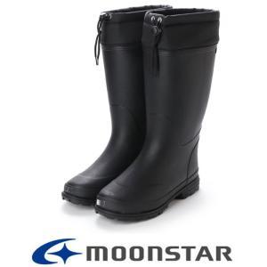 レインシューズ レインブーツ ムーンスター メンズ  MFL 35R ブラック moonstar 長靴 ロング 軽量 完全防水 雨 雪 雨靴 ゴム長|fg-store