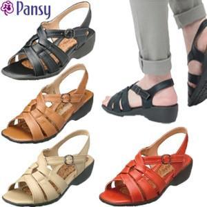 パンジー サンダル レディース 歩きやすいクッション Pansy 5475 母の日 ギフト プレゼント|fg-store