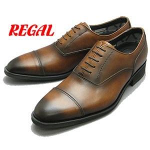 リーガル REGAL 35HRBB ゴアテックス ストレートチップ ビジネスシューズ 革靴 ブラウン 靴 就職祝 成人式 就活 リクルート 父の日 プレゼント|fg-store