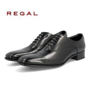 リーガル REGAL 725R ブラック 黒 ストレートチップ 革靴 紳士靴 ビジネスシューズ 就職祝 成人式 就活 リクルート 父の日 プレゼント  |fg-store