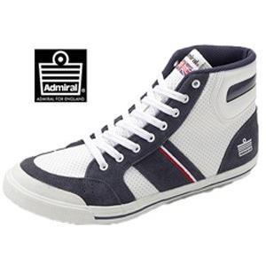Admiral INOMER HI II  アドミラル イノマーHI II  ホワイトネイビー 靴  SJAD0926-0110