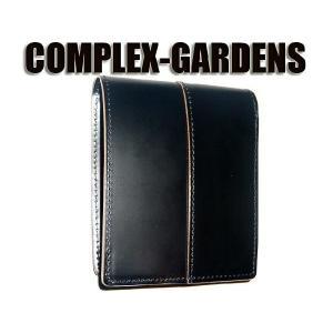 青木鞄 コンプレックスガーデンズ [COMPLEX GARDENS] 枯淡(コタン) 二つ折り財布 ...