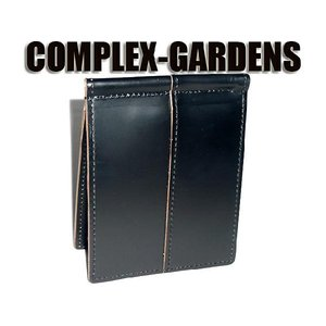 青木鞄 コンプレックスガーデンズ [COMPLEX GARDENS] 枯淡(コタン) マネークリップ...