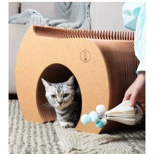 猫 キャットトンネル トンネル キャットトンネル オシャレ 猫ペット ストレス発散(B)