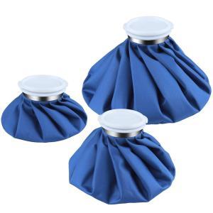 アイシングバッグ アイスバッグ 氷のう 水漏れ防止 氷嚢 結露なし S Mサイズ スポーツ 熱中症 腫れ 痛み アイシング対策 熱冷まし 熱さまし