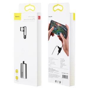 Baseus 正規品 USB Type-C to C 3.5mm イヤホンジャック 変換 アダプタ ...