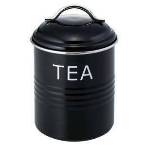 SALUS バーネット キャニスター 黒 TEA|ficst
