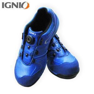 IGNIO(イグニオ) プロスニーカー ブルー IGS1027TGF BL|ficst