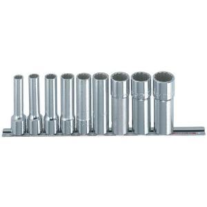 ミトロイ ディープソケットレンチセット ホルダーセット12.7mm インチ 9コマ10点 RS410L|ficst