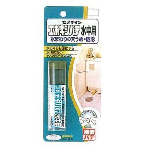 セメダイン エポキシパテ 水中用 60g HC-119|ficst
