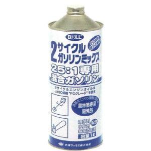BOLL 2サイクルガソリンミックス 25:1専用 2MX-1 1L|ficst