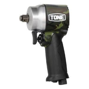 TONE エアーインパクトレンチ(アングル・ショートタイプ) AI4201GCM グリーンカモフラージュ 12.7mm|ficst