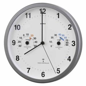 EMPEX トキメクス電波時計(温度計・湿度計付き) TQ-871|ficst