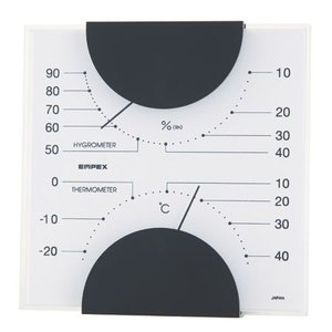 EMPEX MONO 温度計・湿度計 MN-4811|ficst