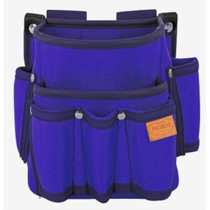 TAJIMA(タジマ) プロマックス 電工腰袋(2段・大/工具差し付) バイオレットブルー PM-DE2KB|ficst