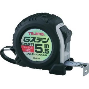 TAJIMA(タジマ) Gステンロック-22 5.5m 22mm幅 メートル目盛 GSL2255BL|ficst