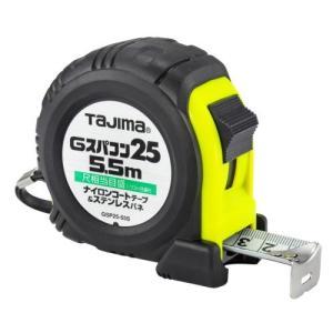 TAJIMA(タジマ) Gスパコン25 5.5m 25mm幅 尺相当目盛付 GSP2555SBL|ficst