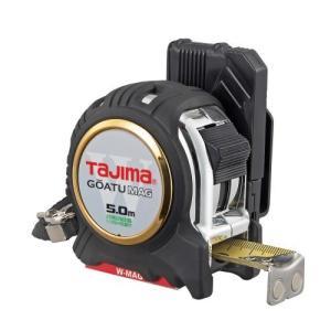 TAJIMA(タジマ) 剛厚セフGロックダブルマグ25 5.0m 25mm幅 尺相当目盛付 GASFGLWM2550S|ficst